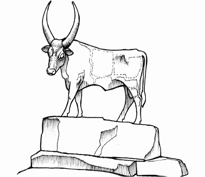 the golden calf coloring page golden calf coloring page best of 321 best images about calf the golden page coloring