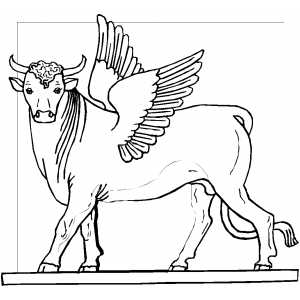 the golden calf coloring page golden calf printable sundayschoolist golden coloring calf the page