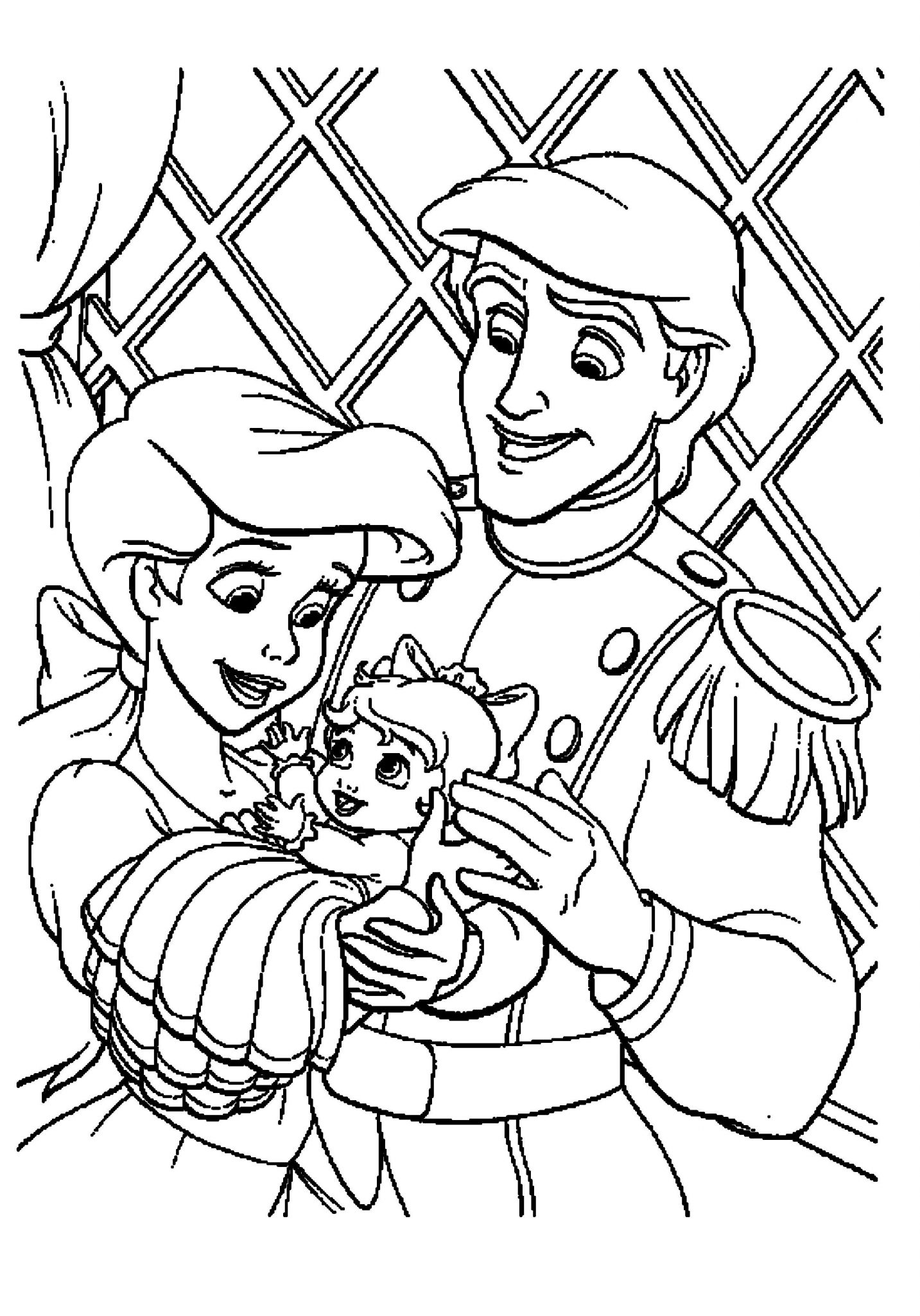 the little mermaid coloring pages print download find the suitable little mermaid coloring pages mermaid the little