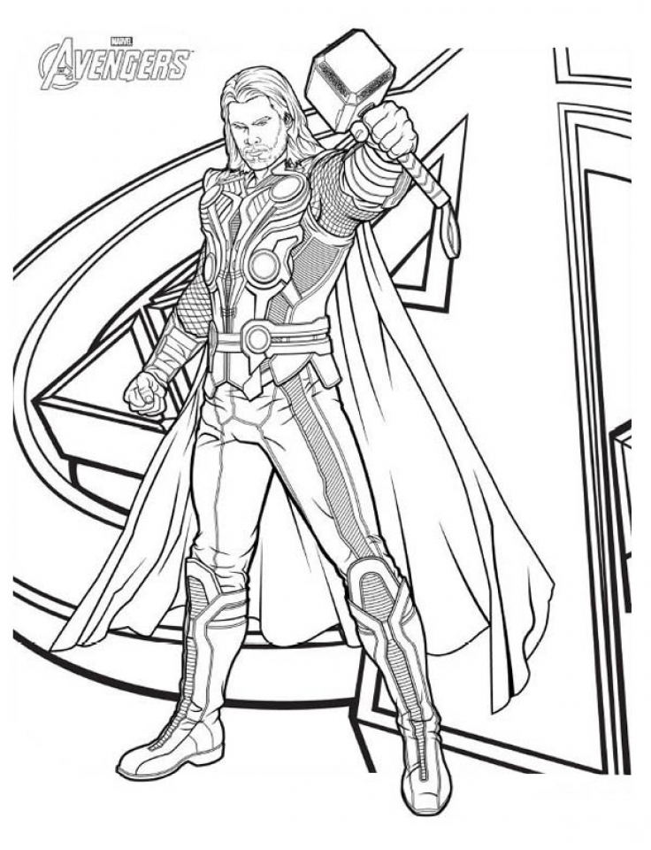 thor coloring sheet thor coloring pages coloring pages to download and print sheet coloring thor