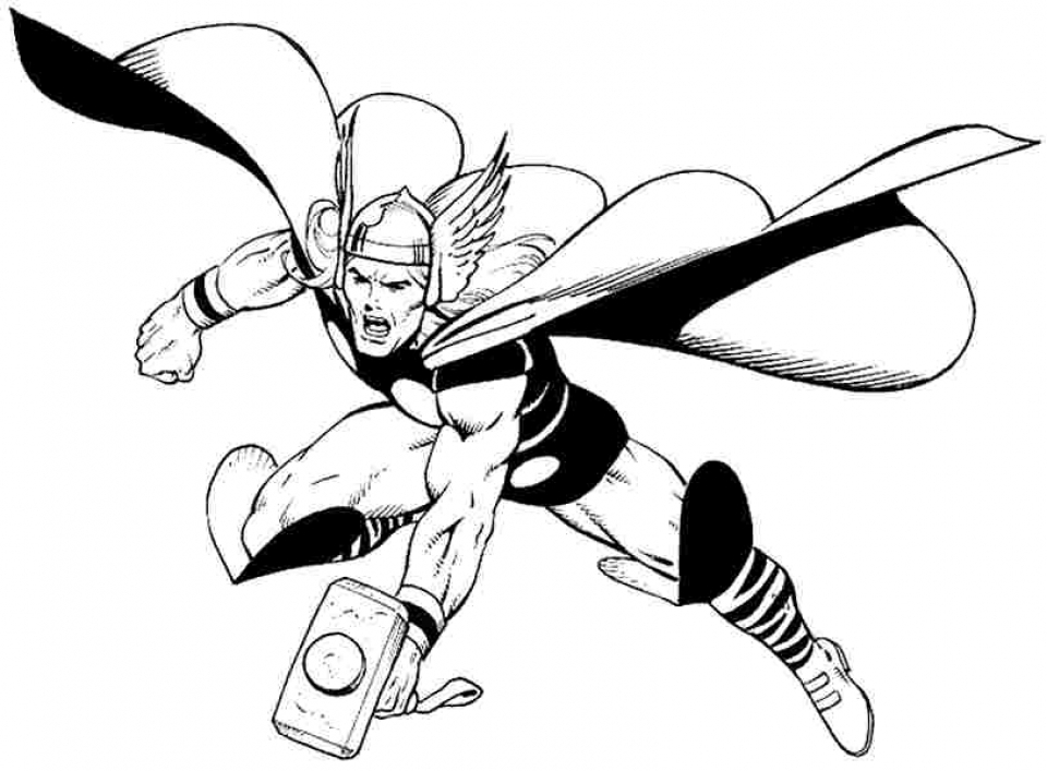 thor coloring sheet thor coloring pages thor coloring sheet