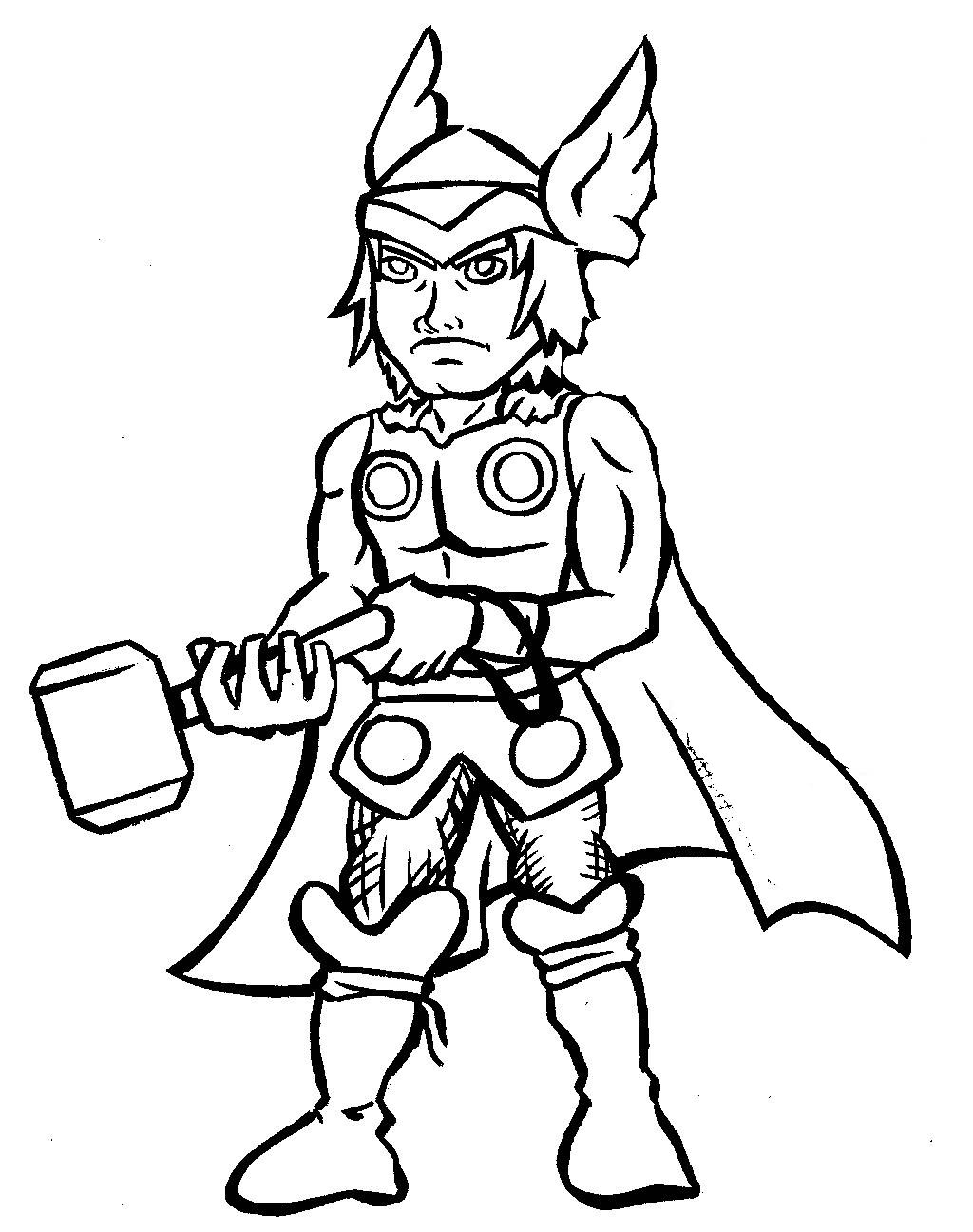thor colouring pictures printable thor coloring pages for kids cool2bkids colouring thor pictures