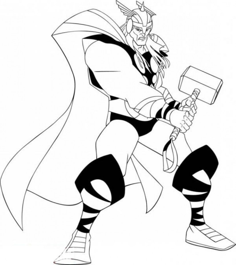 thor colouring pictures thor coloring pages coloring pages to download and print thor colouring pictures