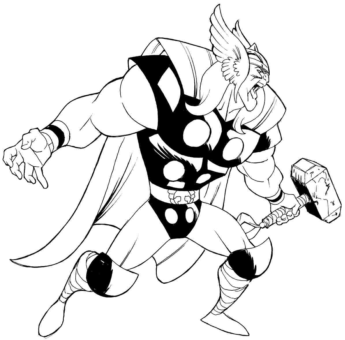 thor colouring pictures thor coloring pages to download and print for free colouring thor pictures