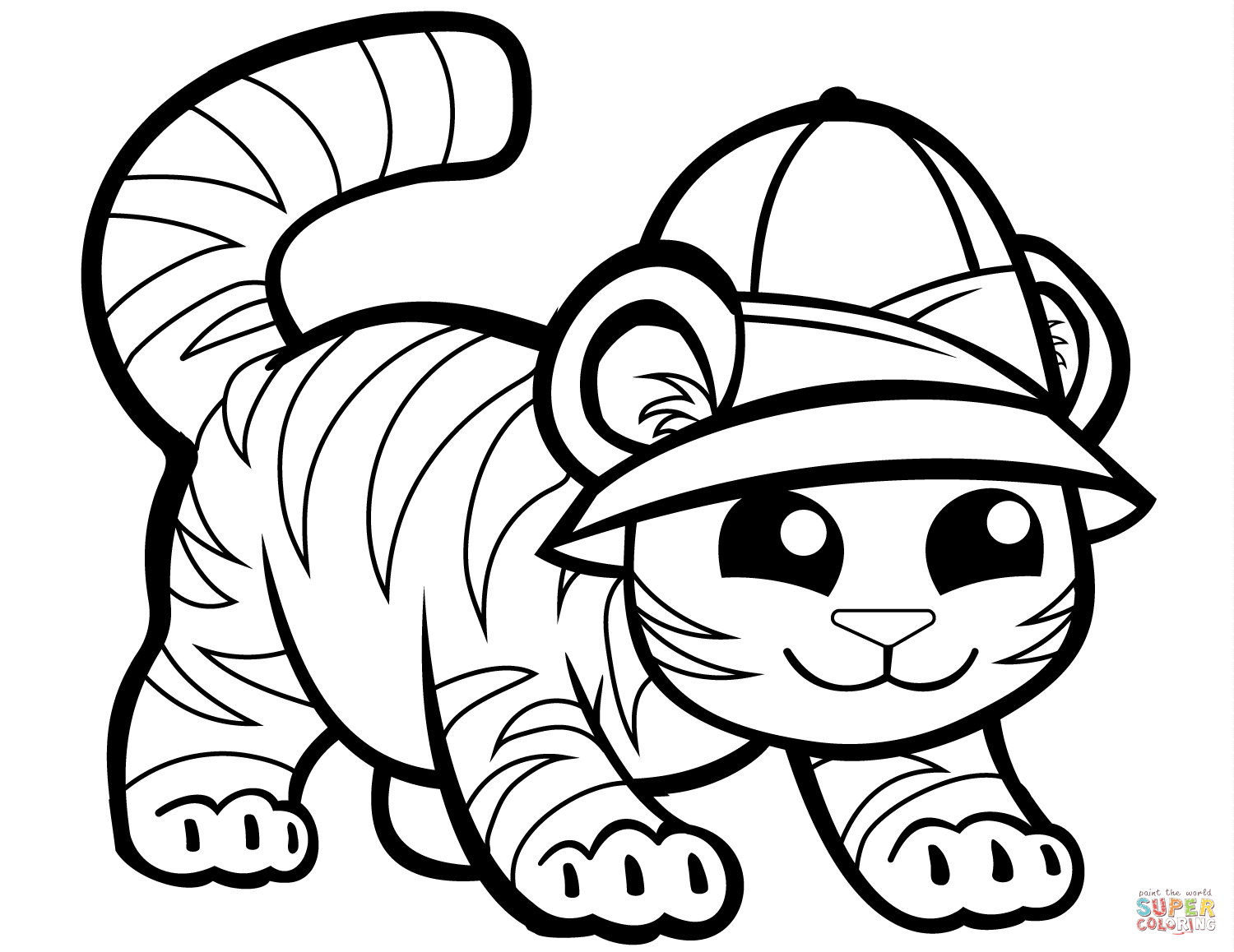 tiger coloring book tiger coloring pages free download on clipartmag tiger coloring book