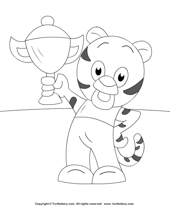 tiger cub coloring pages free tiger coloring pages coloring tiger cub pages