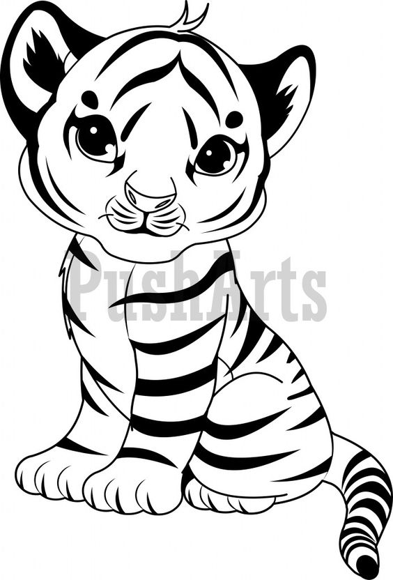 tiger cub coloring pages tiger cub coloring page woo jr kids activities coloring tiger pages cub