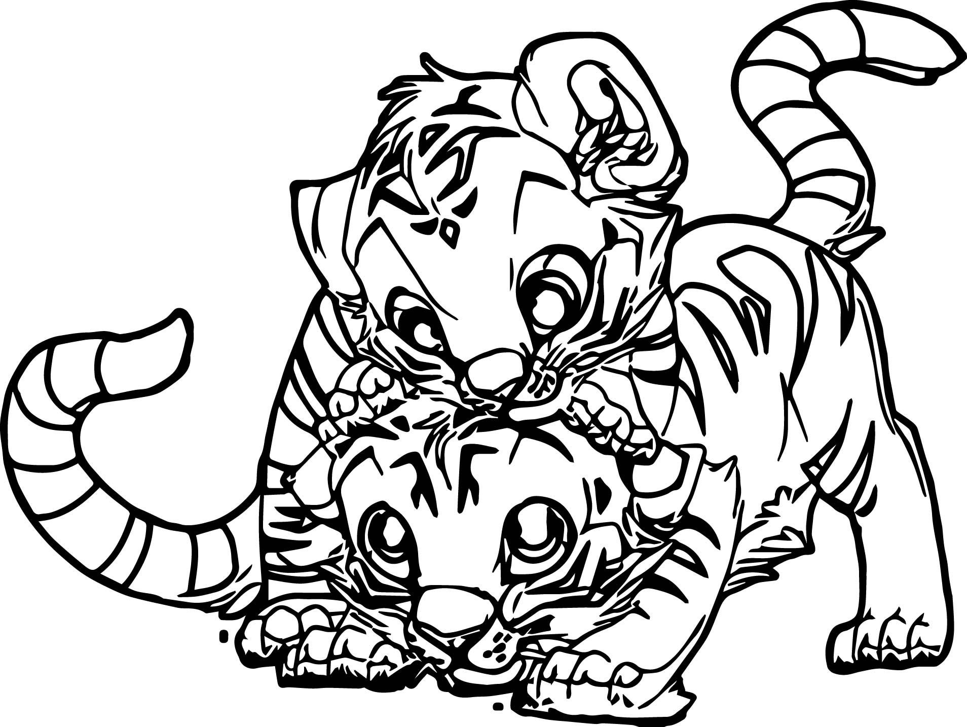 tiger cubs coloring pages pin on animal coloring pages pages coloring cubs tiger