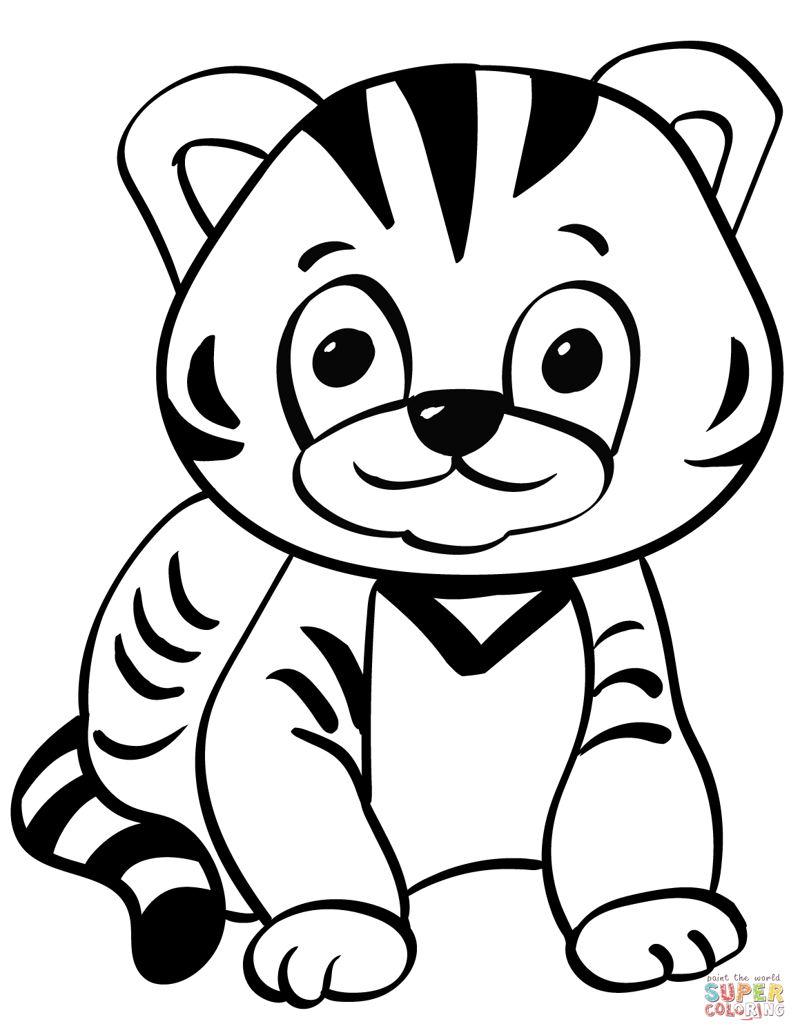 tiger cubs coloring pages pin on kids activity coloring pages coloring cubs tiger