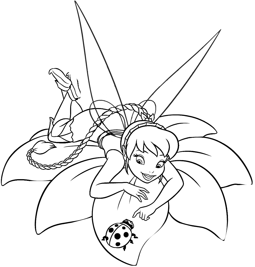tinker bell coloring pages tinkerbell coloring pages team colors tinker coloring bell pages