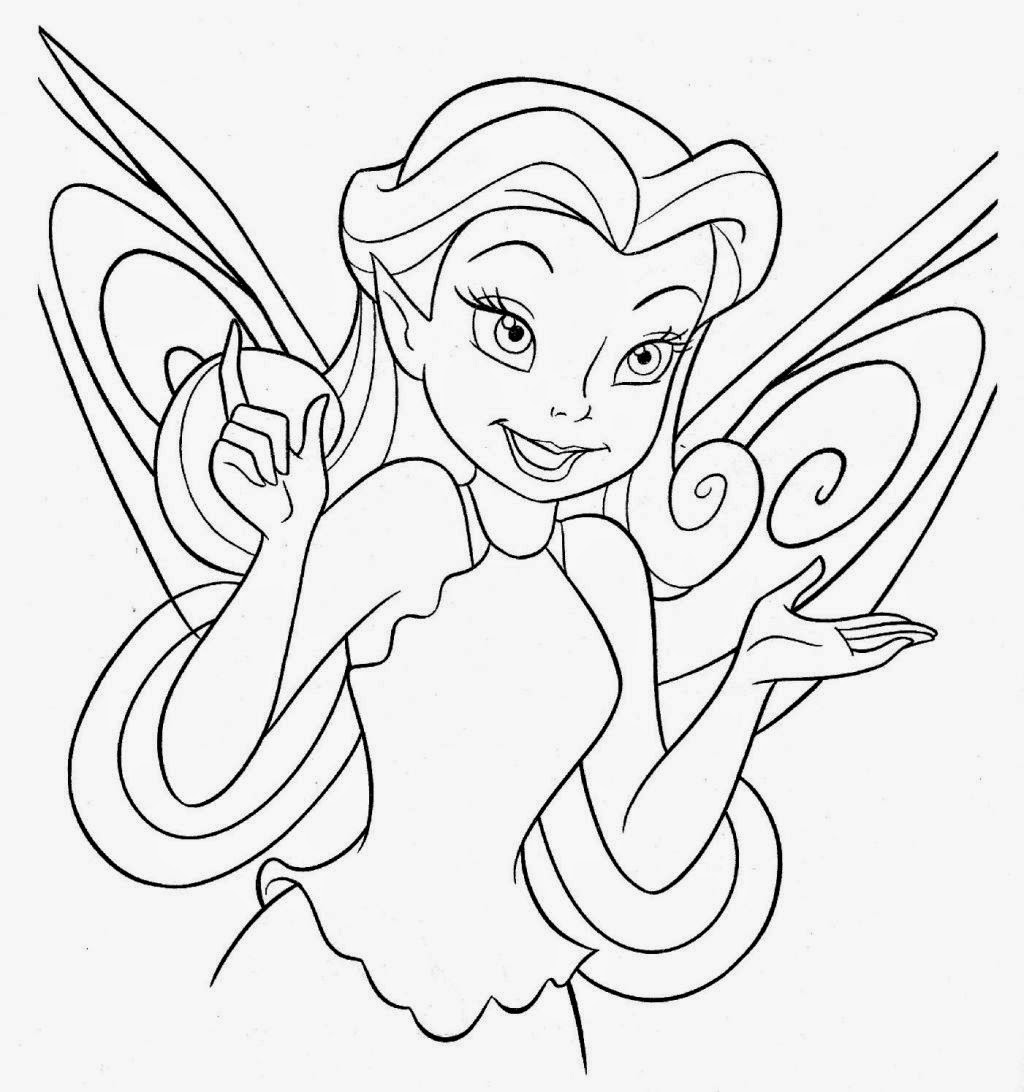 tinkerbell coloring coloring pages tinkerbell coloring pages and clip art tinkerbell coloring 1 1