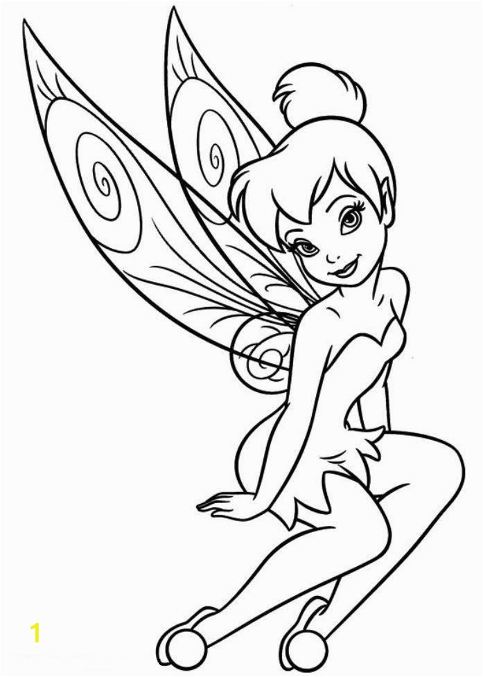 tinkerbell coloring fairy coloring pages coloring tinkerbell