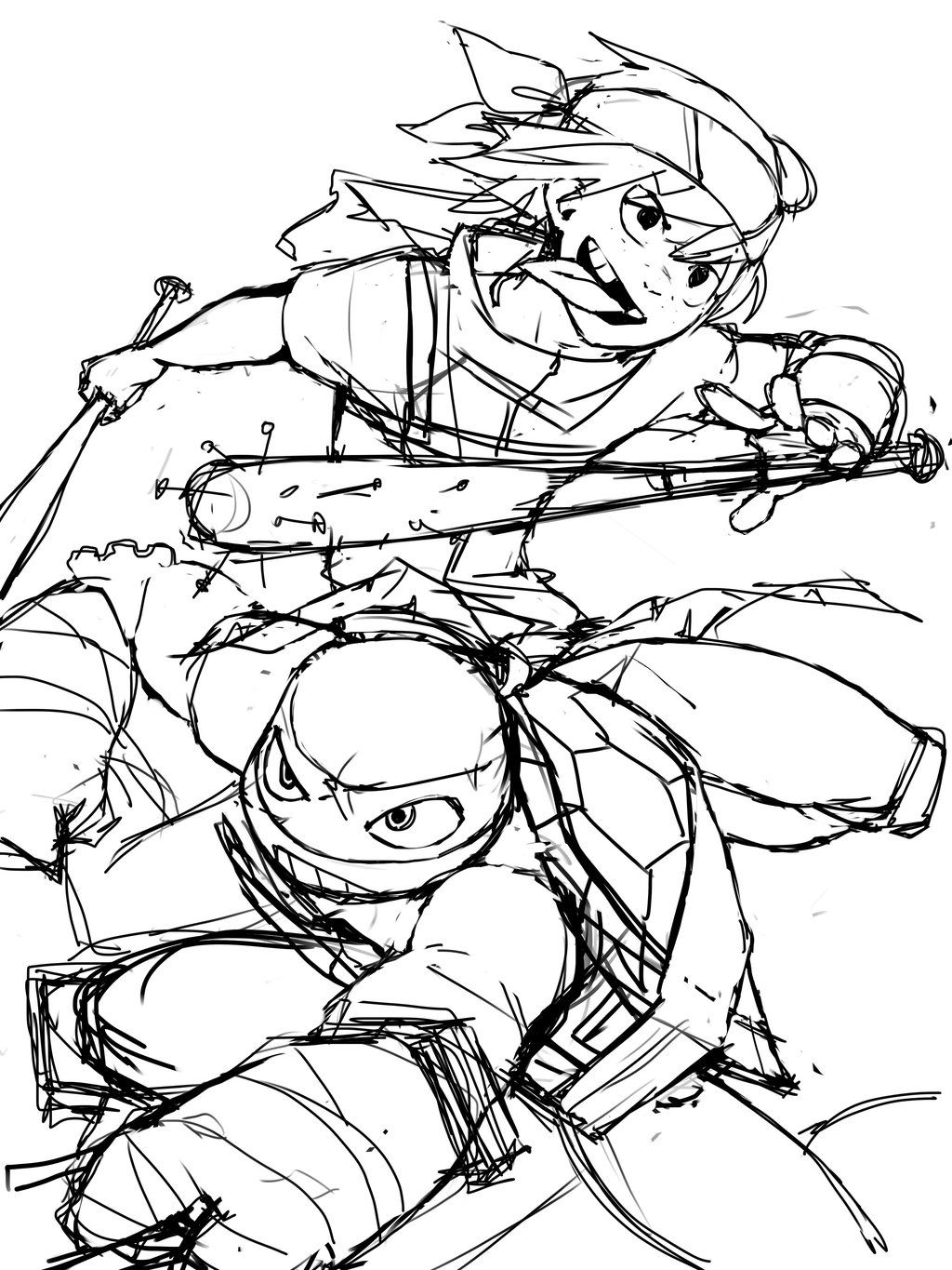 tmnt 2012 coloring pages tmnt teenage mutant ninja turtles by robpaolucci on deviantart pages 2012 tmnt coloring