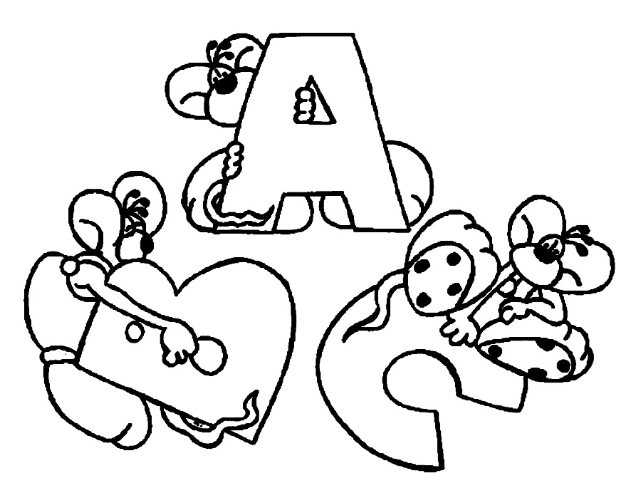 toddler abc coloring pages free printable abc coloring pages for kids coloring toddler pages abc