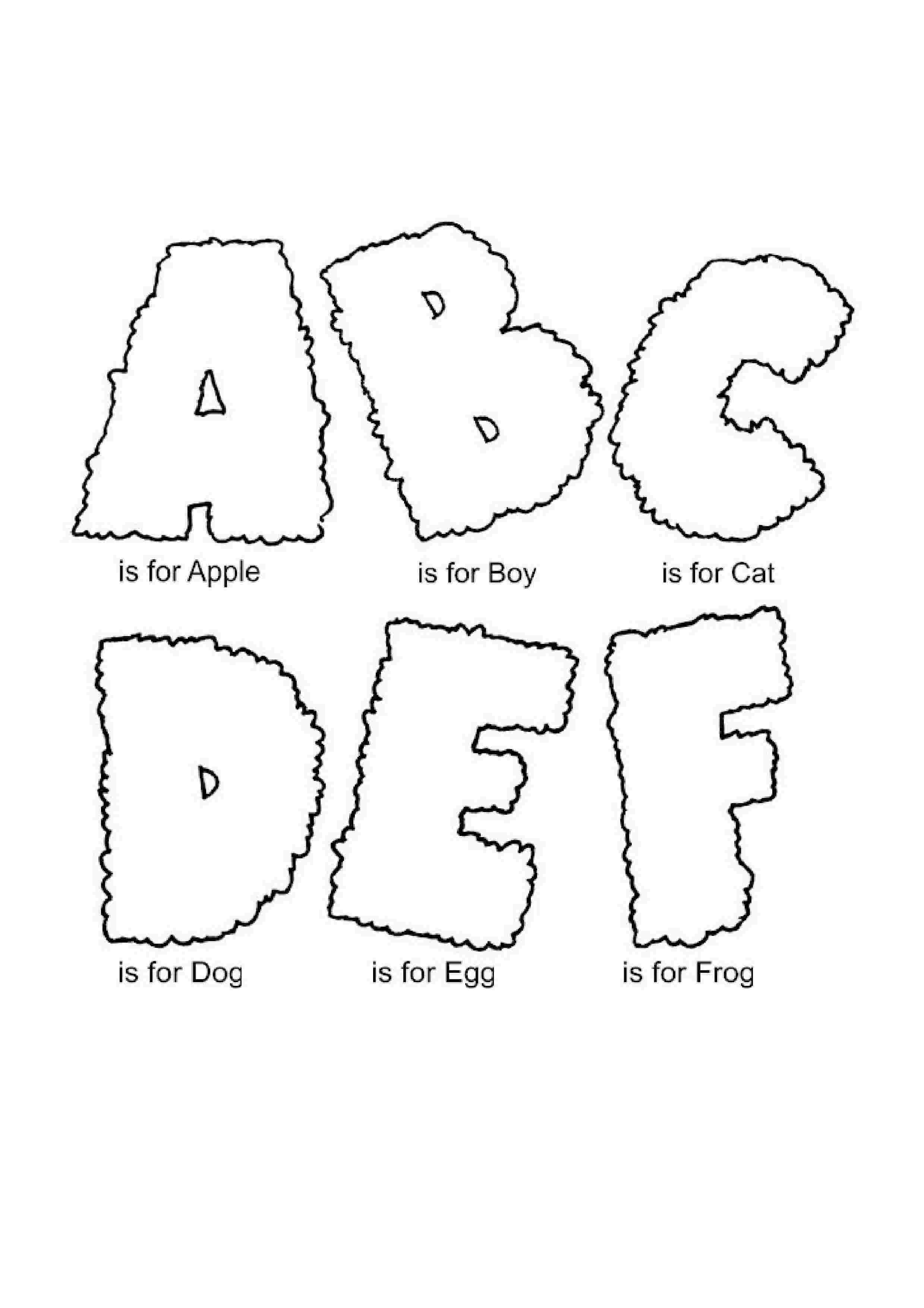 toddler abc coloring pages free printable alphabet coloring pages for kids best pages toddler coloring abc