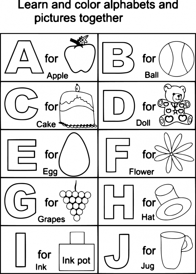 toddler abc coloring pages free printable tracing letters of the alphabet letter toddler coloring pages abc