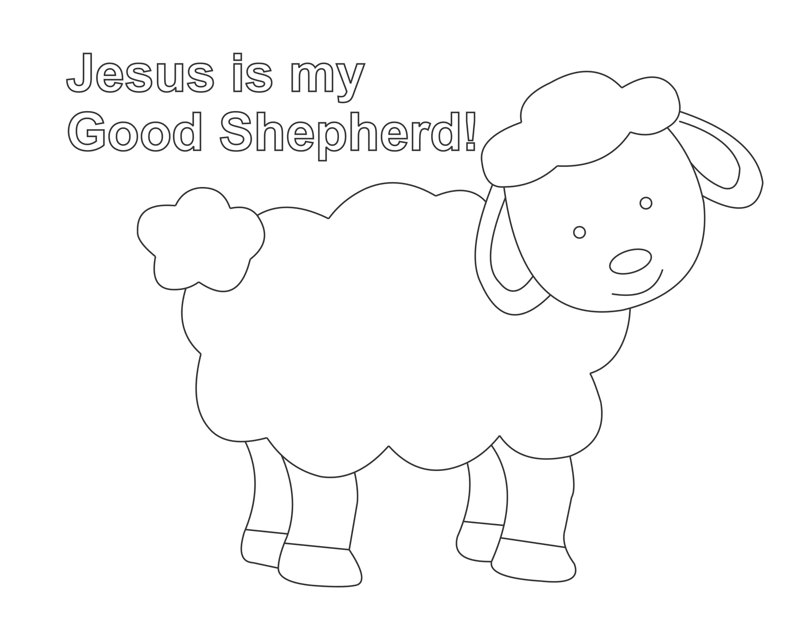toddler kids coloring pages pdf jesus is the good shepherd coloring page easy print pdf kids pages coloring toddler