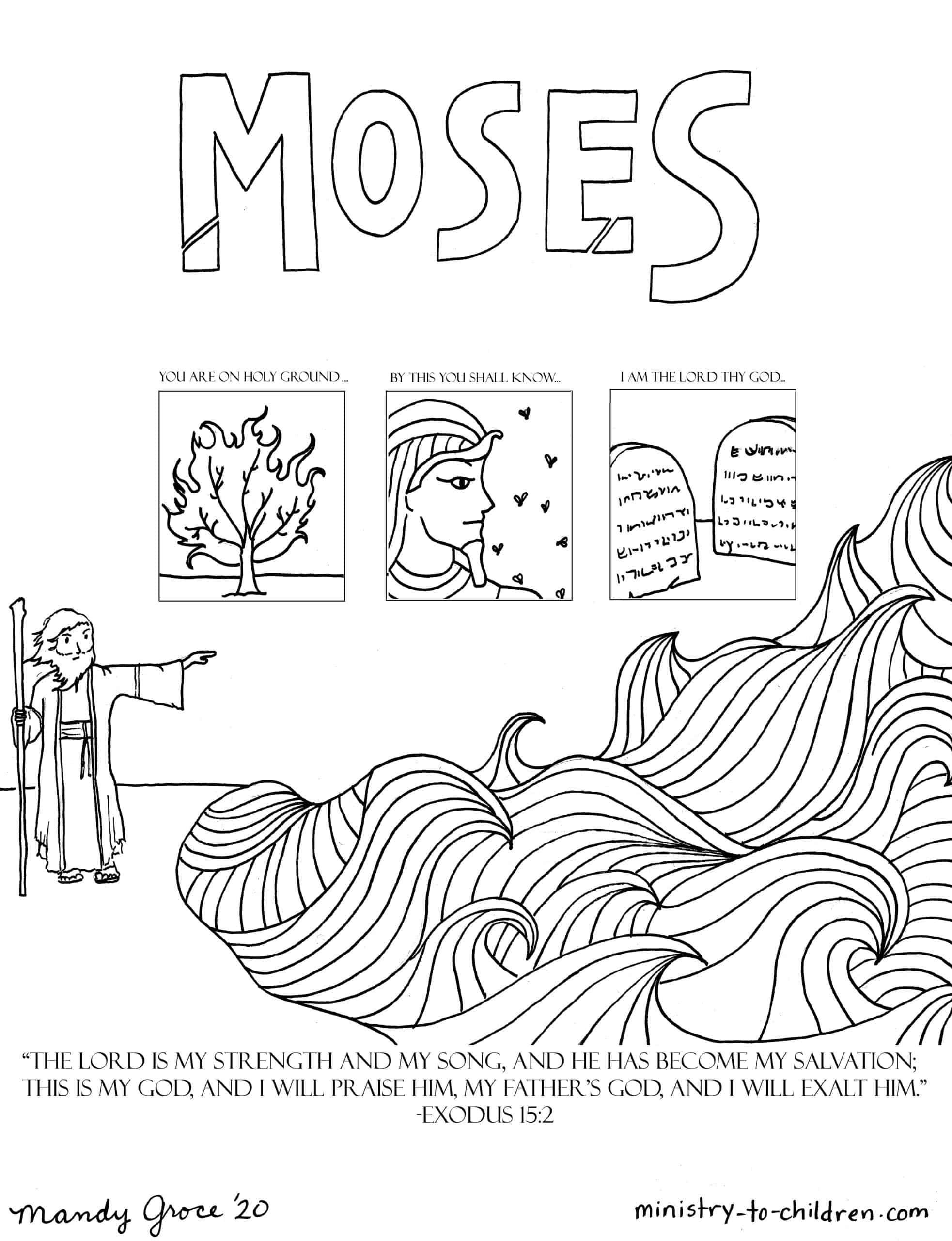 toddler kids coloring pages pdf moses coloring page pdf kids toddler pages coloring