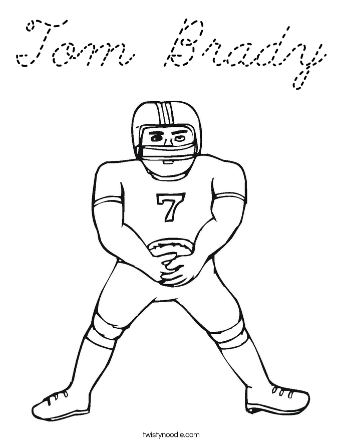 tom brady coloring sheets coloring pages of tom brady coloring home brady tom coloring sheets