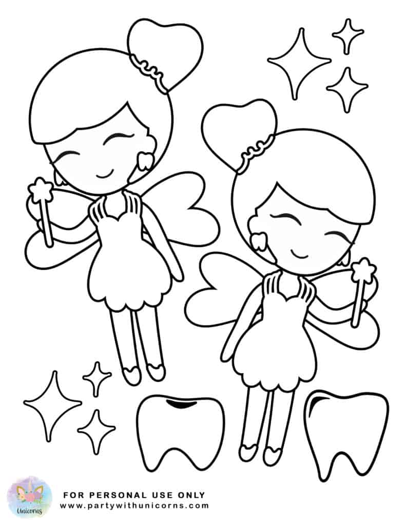 tooth fairy coloring fairy coloring pages tooth fairy coloring in picture tooth fairy coloring