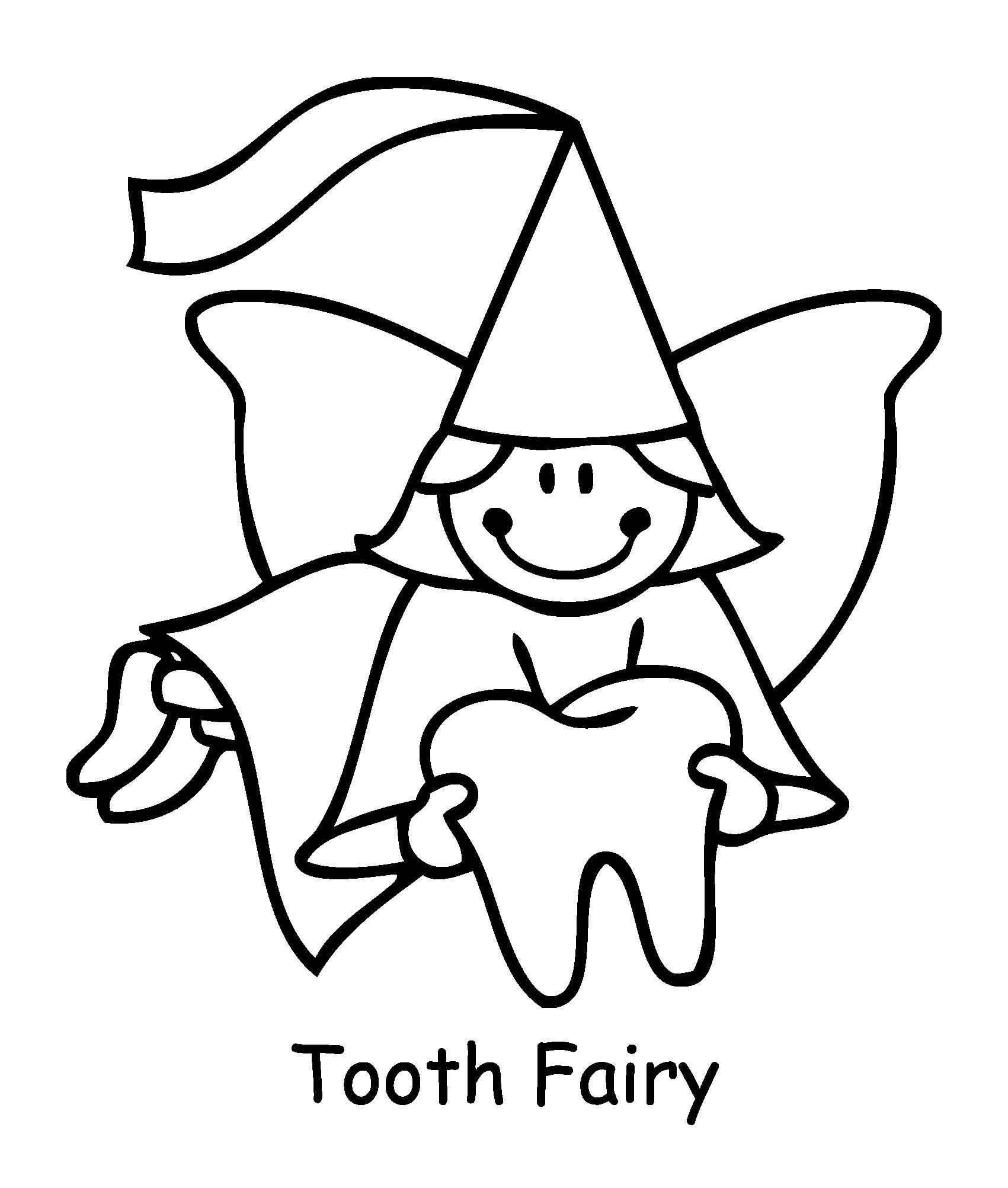 tooth fairy coloring tooth fairy coloring page high res vector graphic getty fairy tooth coloring