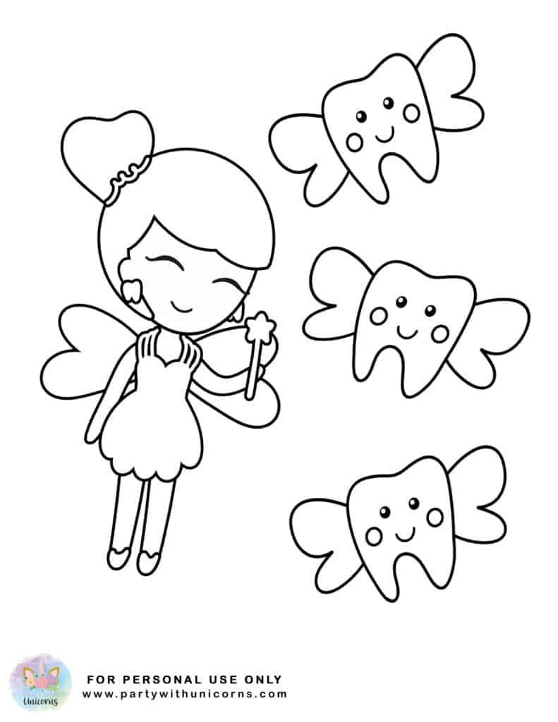 tooth fairy coloring tooth fairy coloring pages free download fairy coloring tooth
