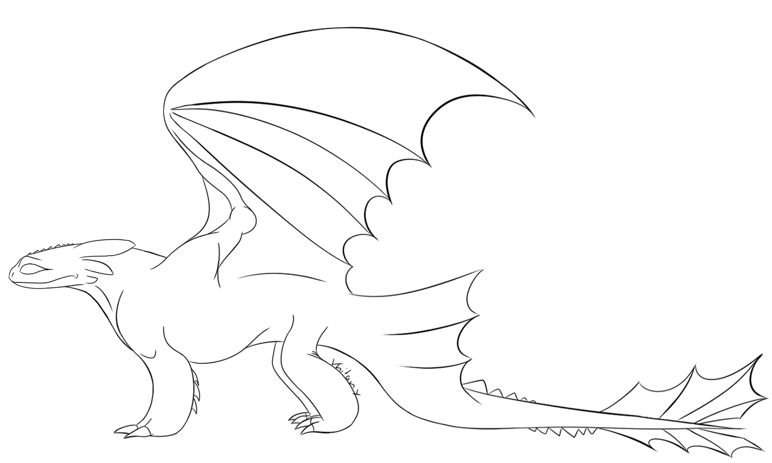 toothless dragon coloring pages toothless lineart by targonreddragon on deviantart dragon coloring toothless pages