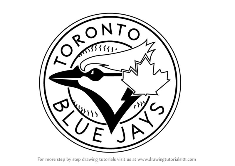 toronto blue jays coloring pages tampa bay rays logo coloring page for kids free mlb pages toronto coloring jays blue