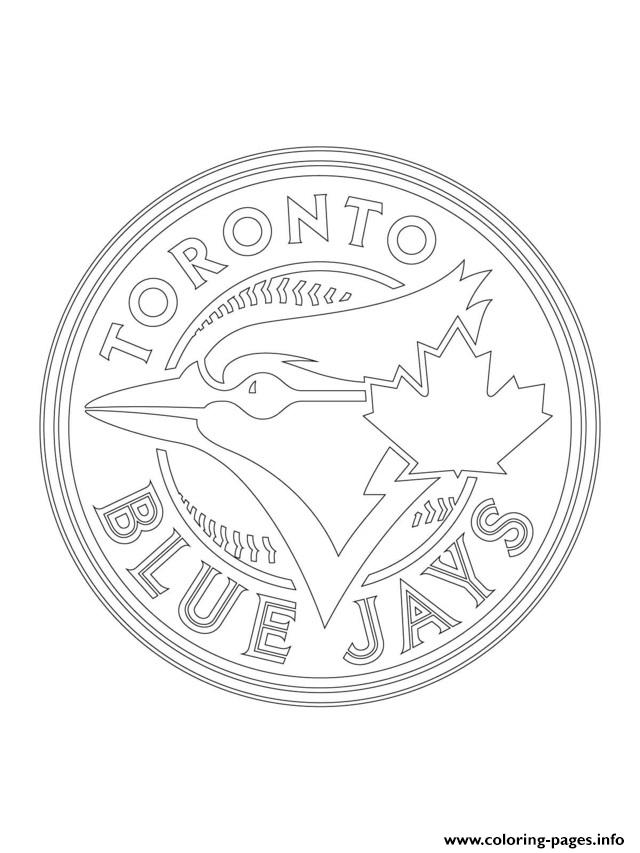 toronto blue jays coloring pages toronto blue jays logo coloring page free mlb coloring jays pages blue coloring toronto
