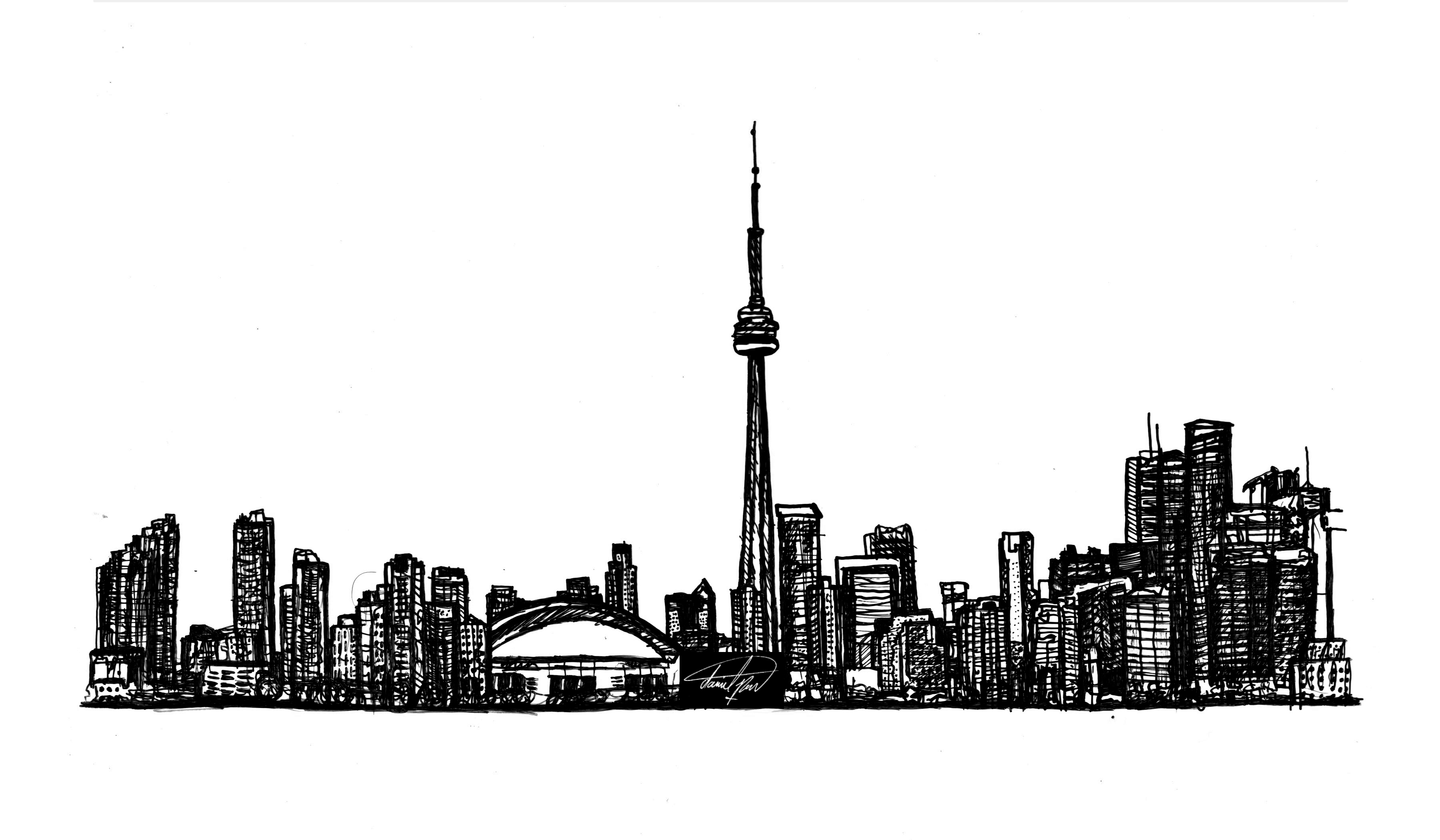 toronto skyline clipart toronto silhouette at getdrawings free download skyline toronto clipart
