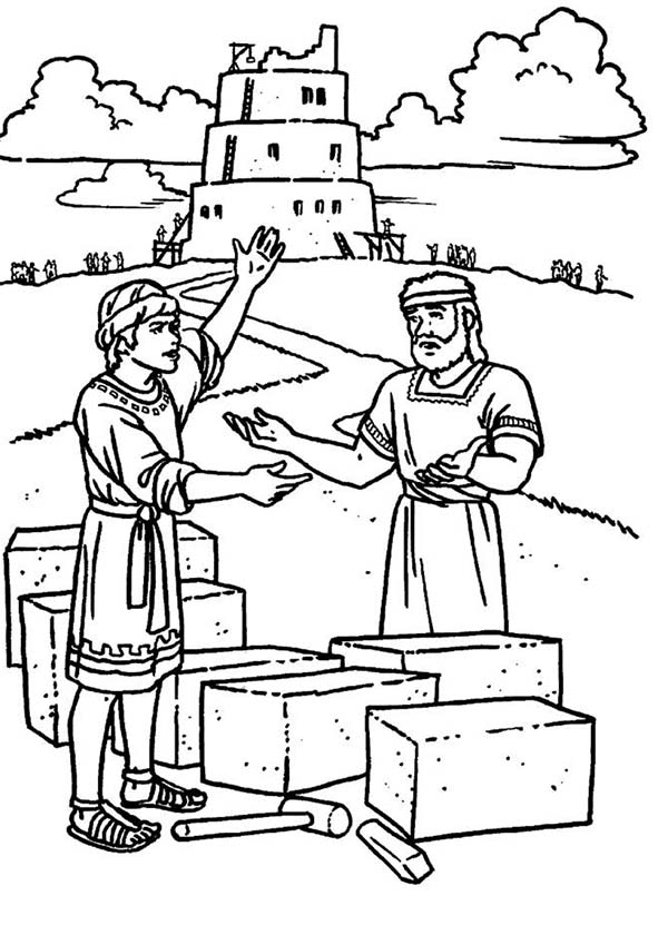 tower of babel coloring sheet tower of babel coloring pages coloring home tower babel sheet coloring of