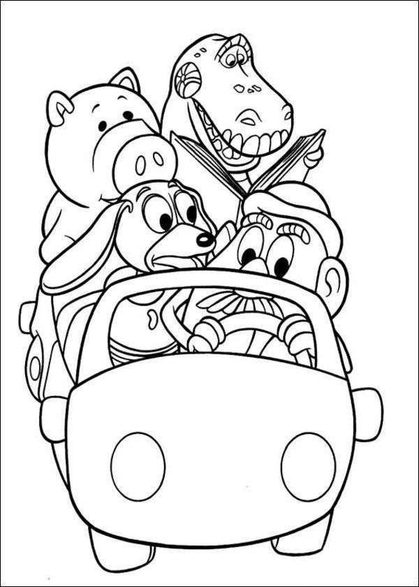 toy story 2 pictures to colour toy story 2 coloring pages at getcoloringscom free colour pictures toy 2 story to