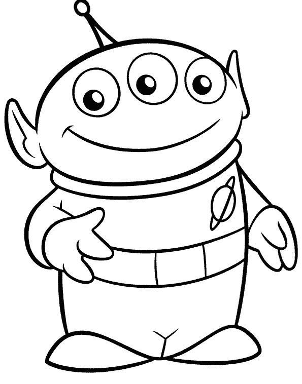 toy story alien coloring sheet free printable toy story aliens pdf coloring pages sheet alien coloring toy story