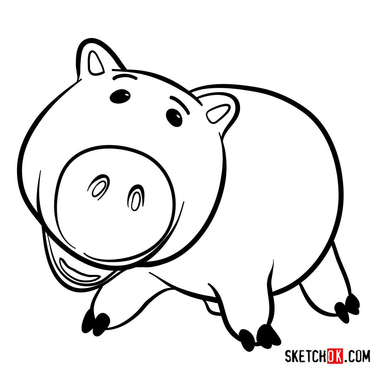 toy story hamm coloring page 1000 images about coloring pages on pinterest coloring toy page coloring story hamm