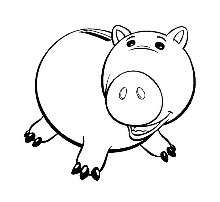 toy story hamm coloring page free printable toy story coloring pages toy story page hamm coloring toy story