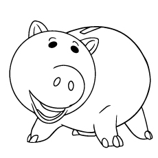 toy story hamm coloring page new toy story hamm coloring page nicoloring hamm story coloring page toy