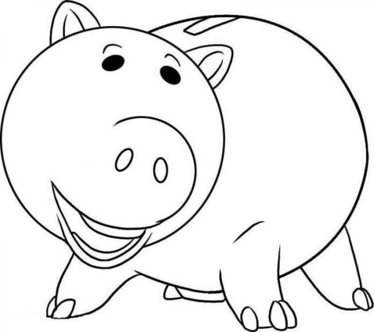 toy story hamm coloring page toy story hamm da stampare e colorare page story toy coloring hamm