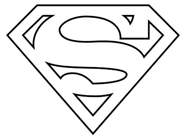 traceable batman logo superman logo coloring pages to download and print for free logo traceable batman