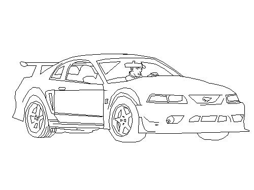 traceable car pictures trace the car coloring page twisty noodle in 2020 cars pictures traceable car