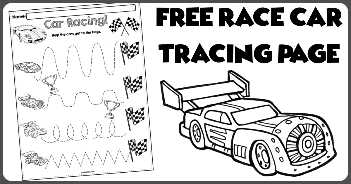 traceable car pictures vehicles coloring and tracing pages pictures car traceable