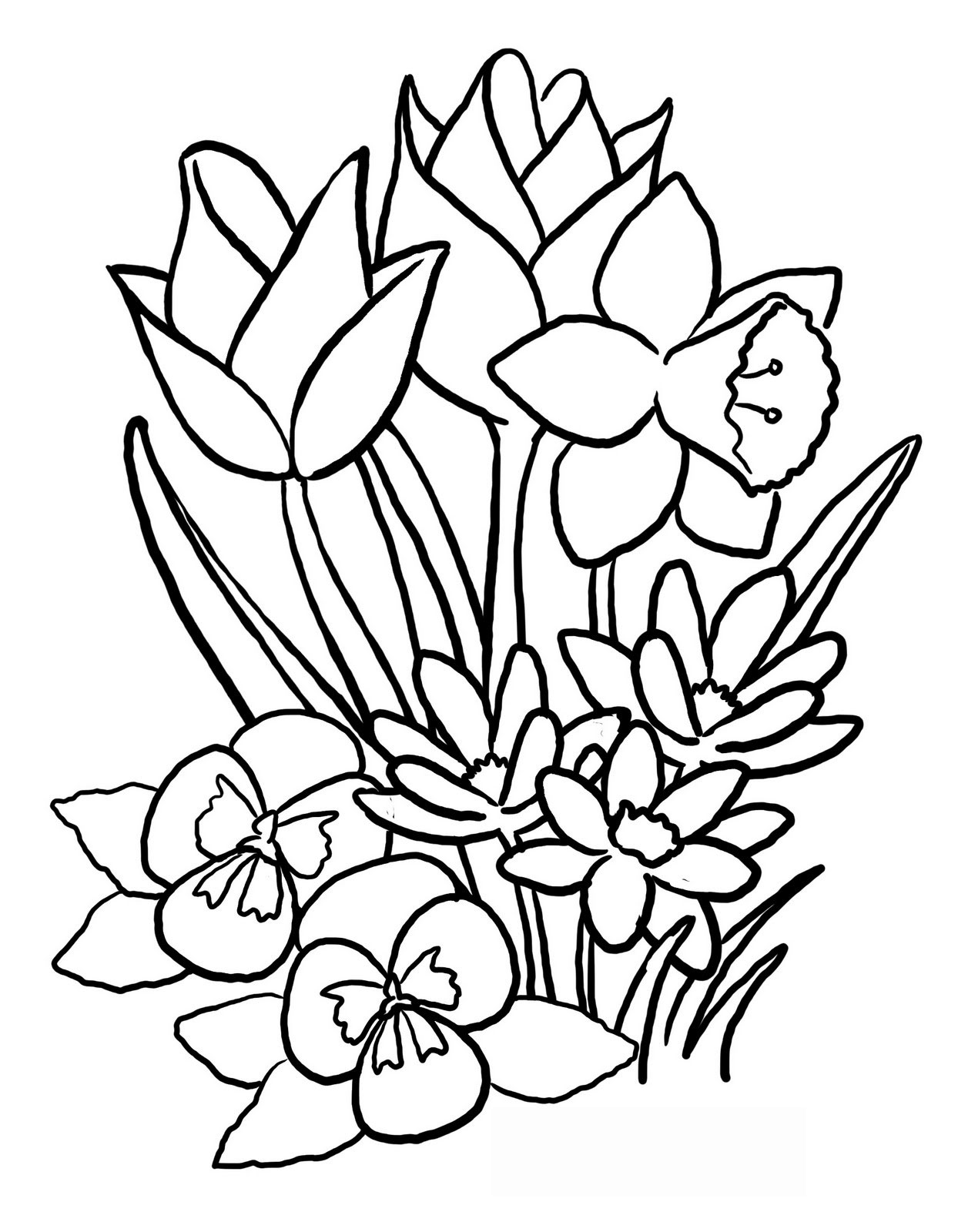traceable pictures of flowers flower coloring page manualidades y quothazlo tu mismo traceable of flowers pictures
