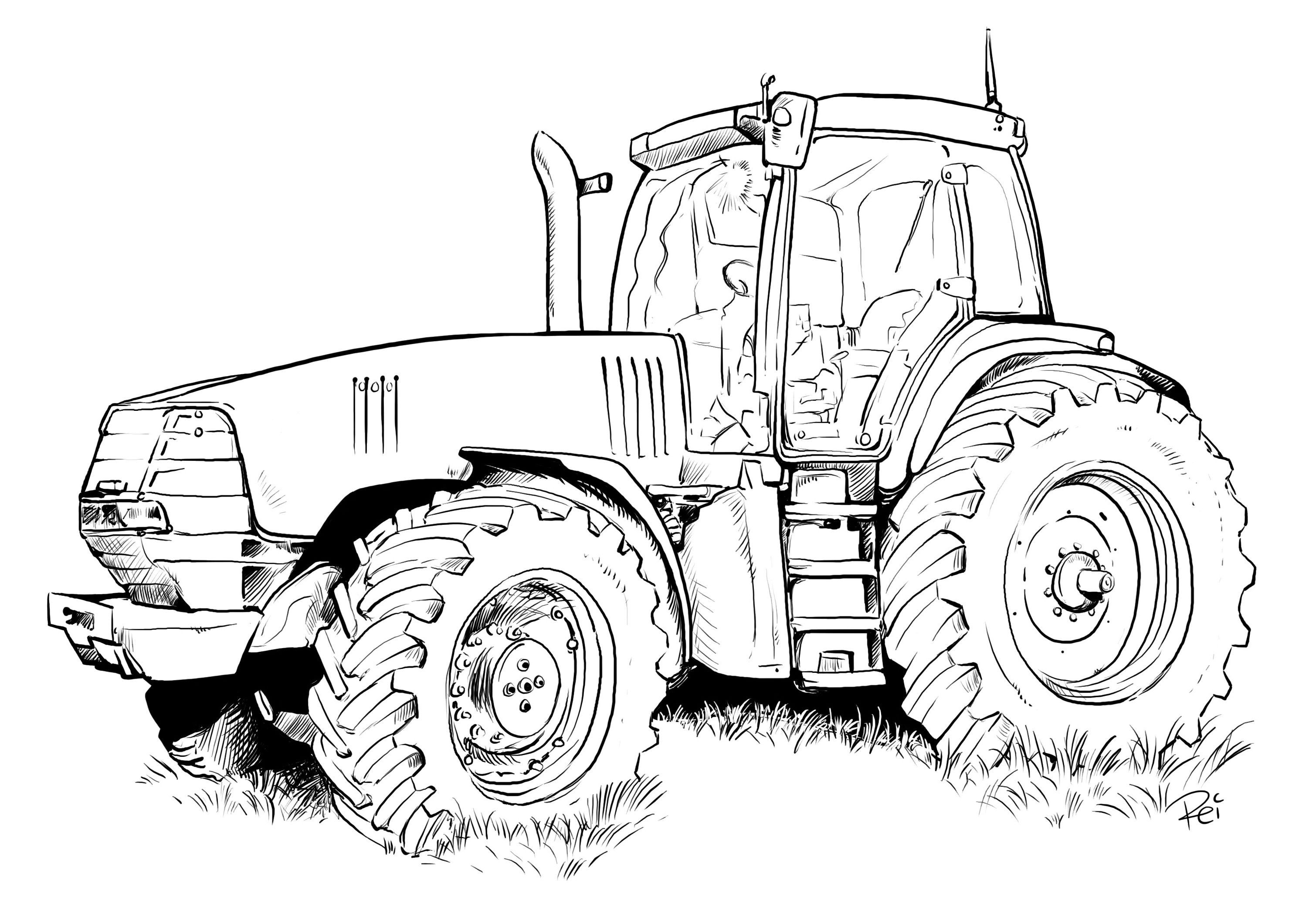 tractor color pages 25 best tractor coloring pages to print color pages tractor