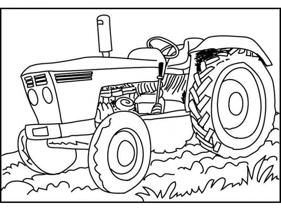 tractor color pages big boss tractor coloring pages to print free tractors color tractor pages