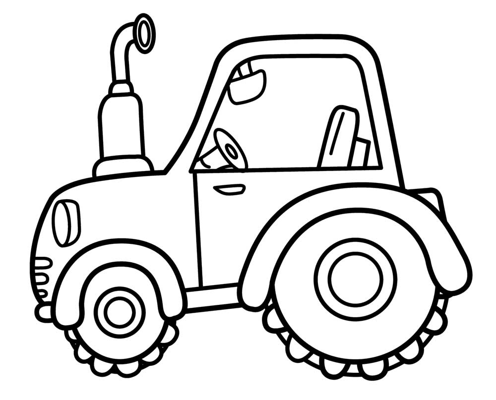 tractor color pages free printable tractor coloring pages for kids color tractor pages