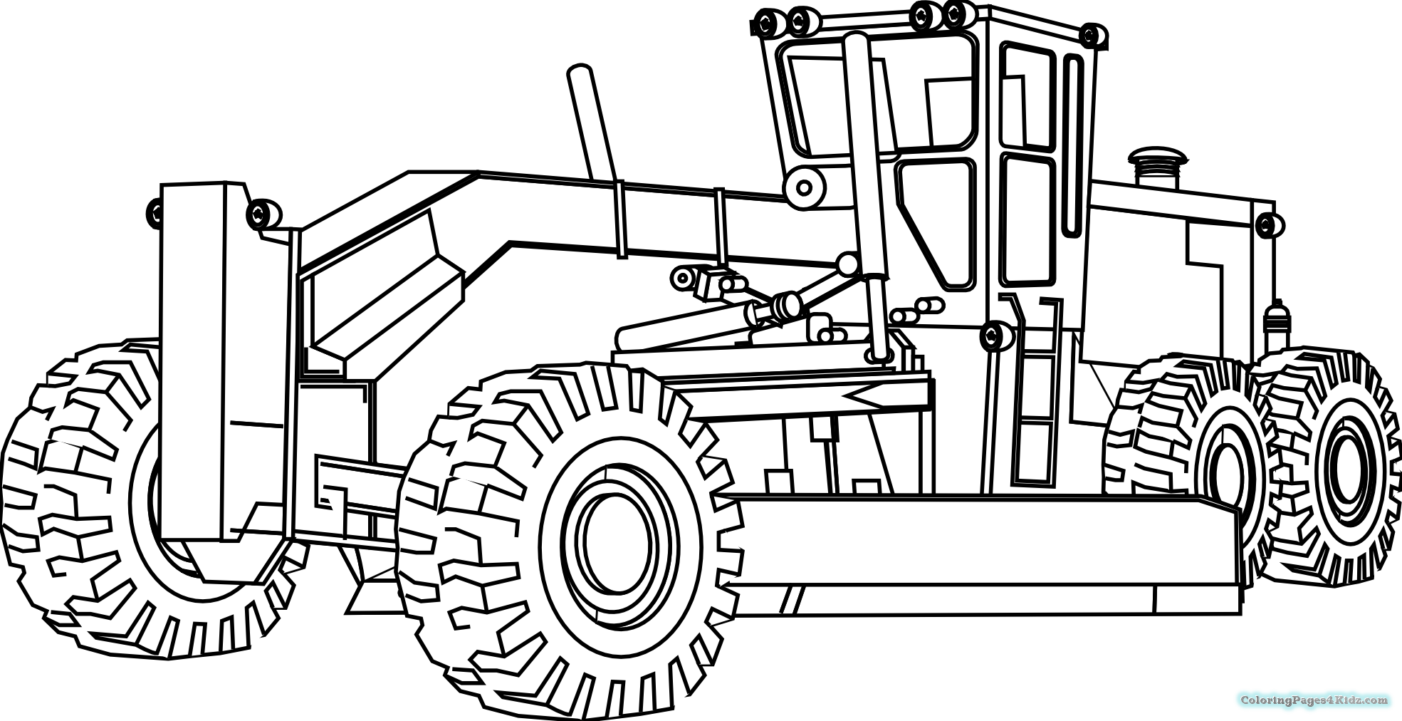 tractor color pages tractor coloring pages coloring pages for kids tractor color pages