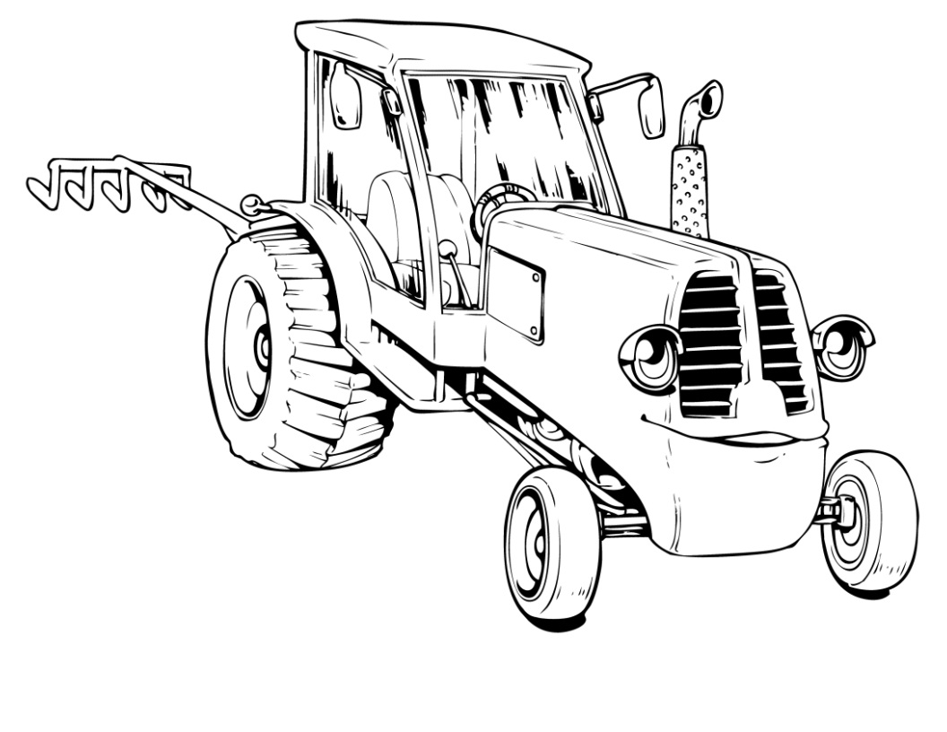 tractor coloring sheets art of the tractor coloring book octane press tractor sheets coloring