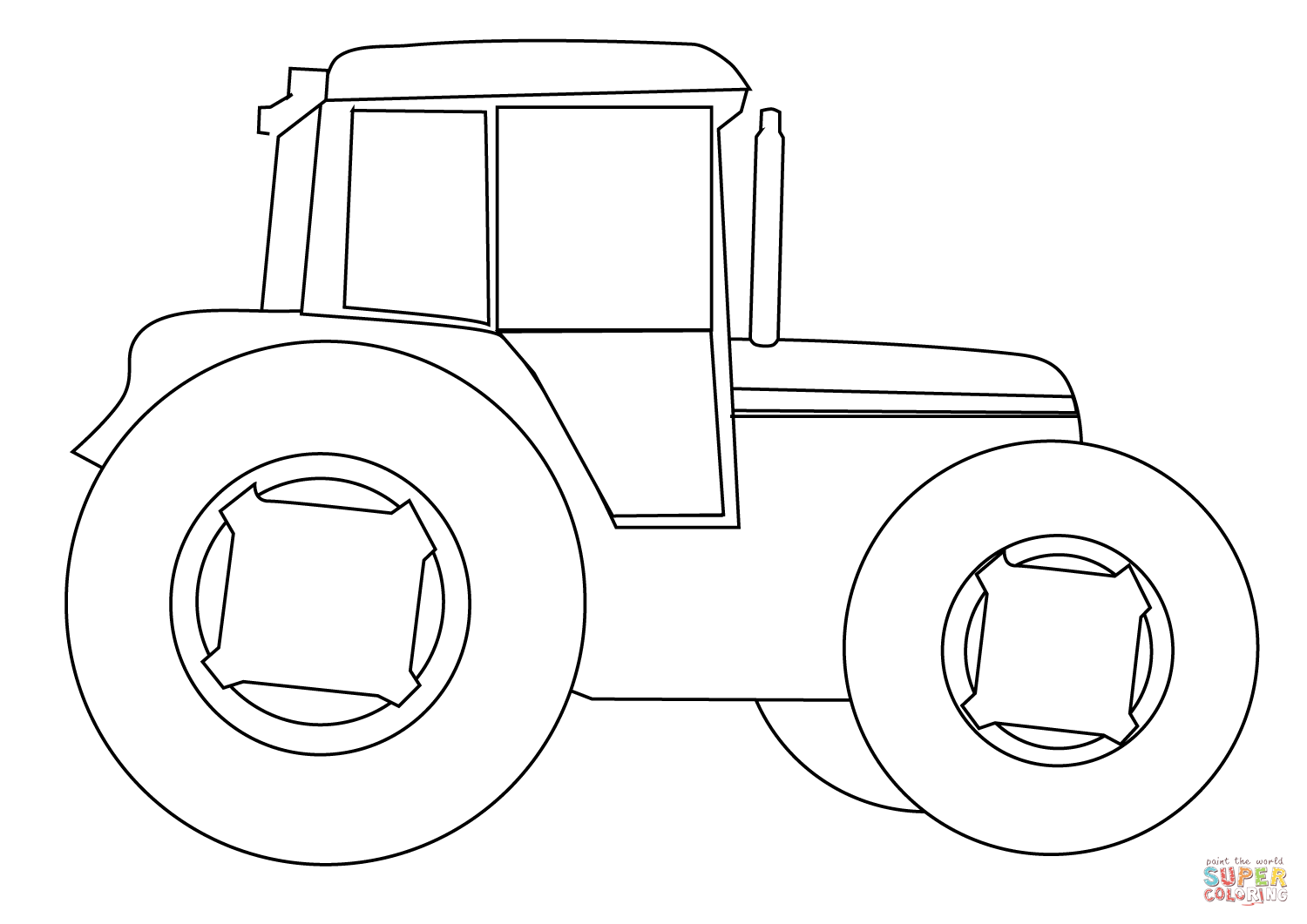 tractor template printable 25 best tractor coloring pages to print template tractor printable