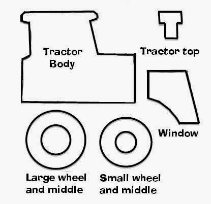 tractor template printable cute tractor coloring page for toddlers transportation tractor template printable