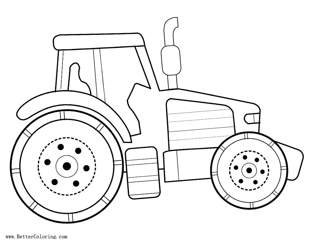 tractor template printable icolor quotthe big boys bookquot tractor coloring pages truck tractor template printable
