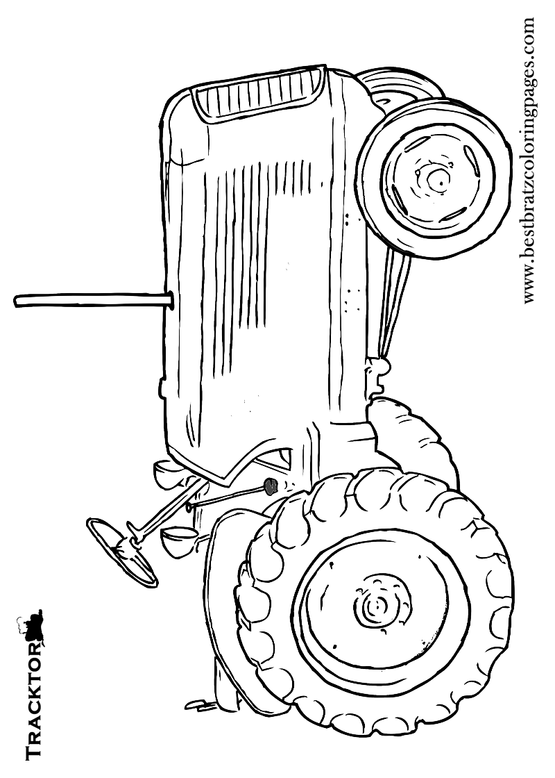 tractor template printable tractor coloring pages simple for kids free printable template tractor printable
